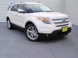 2014 White Platinum Ford Explorer Limited #90677848