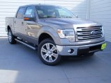 2014 Sterling Grey Ford F150 Lariat SuperCrew 4x4 #90677846