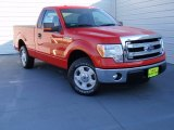 2014 Race Red Ford F150 XL Regular Cab #90677844