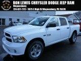 2014 Bright White Ram 1500 Express Crew Cab 4x4 #90677825