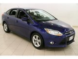 2012 Sonic Blue Metallic Ford Focus SE Sport Sedan #90745901