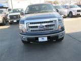 2014 Blue Jeans Ford F150 XLT SuperCrew 4x4 #90745535