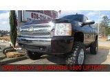 2008 Dark Cherry Metallic Chevrolet Silverado 1500 LS Regular Cab 4x4 #90745885