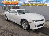 2014 Summit White Chevrolet Camaro LS Coupe #90745487