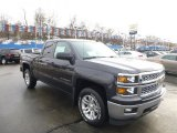 2014 Tungsten Metallic Chevrolet Silverado 1500 LT Double Cab 4x4 #90745997