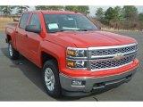 2014 Victory Red Chevrolet Silverado 1500 LT Crew Cab 4x4 #90745918