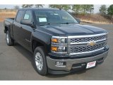 2014 Black Chevrolet Silverado 1500 LT Crew Cab #90745917