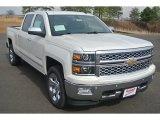 2014 White Diamond Tricoat Chevrolet Silverado 1500 LTZ Crew Cab 4x4 #90745916