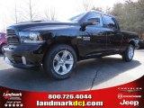 2014 Black Ram 1500 Sport Crew Cab #90790292