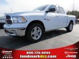 2014 Bright White Ram 1500 Big Horn Crew Cab #90790291