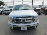 2014 Oxford White Ford F150 XLT SuperCab #90790131