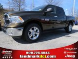 2014 Black Gold Pearl Coat Ram 1500 Big Horn Crew Cab #90790290
