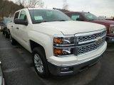 2014 White Diamond Tricoat Chevrolet Silverado 1500 LT Crew Cab 4x4 #90790613