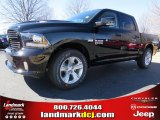 2014 Black Ram 1500 Sport Crew Cab #90790283