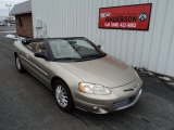 2002 Light Almond Pearl Metallic Chrysler Sebring LXi Convertible #90790674