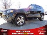 2014 Brilliant Black Crystal Pearl Jeep Grand Cherokee Limited #90790257