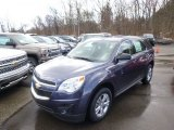 2014 Atlantis Blue Metallic Chevrolet Equinox LS AWD #90790356