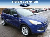 2014 Deep Impact Blue Ford Escape SE 2.0L EcoBoost 4WD #90790243