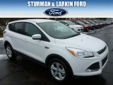 2014 Oxford White Ford Escape SE 1.6L EcoBoost 4WD #90790242