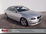 2008 Titanium Silver Metallic BMW 3 Series 335i Convertible #90790431