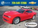 2014 Red Hot Chevrolet Camaro LS Coupe #90790503