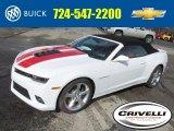 2014 Summit White Chevrolet Camaro SS/RS Convertible #90790500