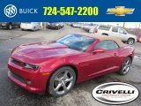 2014 Crystal Red Tintcoat Chevrolet Camaro LT/RS Convertible #90790499