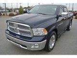 2012 True Blue Pearl Dodge Ram 1500 Laramie Crew Cab 4x4 #90790580