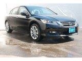 2014 Crystal Black Pearl Honda Accord Sport Sedan #90790323