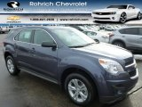 2014 Atlantis Blue Metallic Chevrolet Equinox LS AWD #90790629