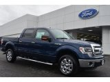 2014 Blue Jeans Ford F150 XLT SuperCrew #90790311