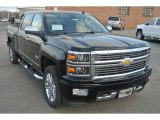 2014 Black Chevrolet Silverado 1500 High Country Crew Cab 4x4 #90790565