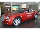 2008 Inferno Red Crystal Pearl Chrysler 300 C HEMI #90828064