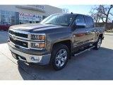 2014 Brownstone Metallic Chevrolet Silverado 1500 LTZ Crew Cab #90828134