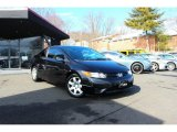 2007 Nighthawk Black Pearl Honda Civic LX Coupe #90827915