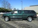 2004 Dark Green Metallic Chevrolet Silverado 1500 Z71 Extended Cab 4x4 #90828215