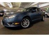2011 Steel Blue Metallic Ford Fusion SEL V6 #90852348