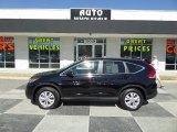 2013 Crystal Black Pearl Honda CR-V EX AWD #90852347