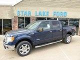 2014 Blue Jeans Ford F150 XLT SuperCrew 4x4 #90852456