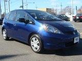2011 Vortex Blue Pearl Honda Fit  #90852494