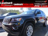 2014 Black Forest Green Pearl Jeep Grand Cherokee Laredo #90852210