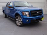 2014 Blue Flame Ford F150 FX2 SuperCrew #90852281