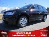2014 Pitch Black Dodge Journey Amercian Value Package #90852191