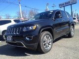 2014 Brilliant Black Crystal Pearl Jeep Grand Cherokee Limited 4x4 #90852102