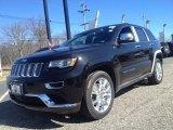 2014 Brilliant Black Crystal Pearl Jeep Grand Cherokee Summit 4x4 #90852101