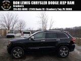 2014 Brilliant Black Crystal Pearl Jeep Grand Cherokee Overland 4x4 #90881876