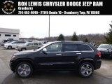 2014 Brilliant Black Crystal Pearl Jeep Grand Cherokee Overland 4x4 #90881869