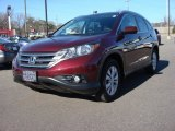 2012 Basque Red Pearl II Honda CR-V EX-L #90882347