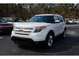 2014 White Platinum Ford Explorer Limited #90882144
