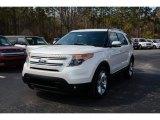 2014 White Platinum Ford Explorer Limited #90882144